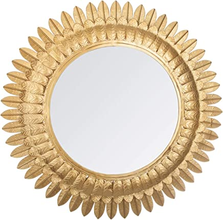 UNIVERS-DECOR Miroir m/étal Fleur Noir Atmosphera