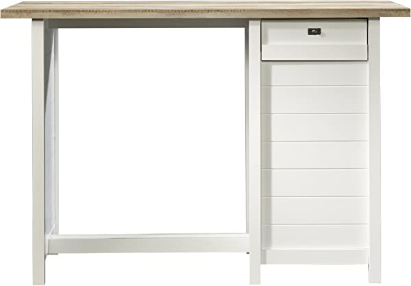 Sauder 416039 Cottage Road Work Table L 53 15 X W 23 47 X H 35 98 Soft White Finish