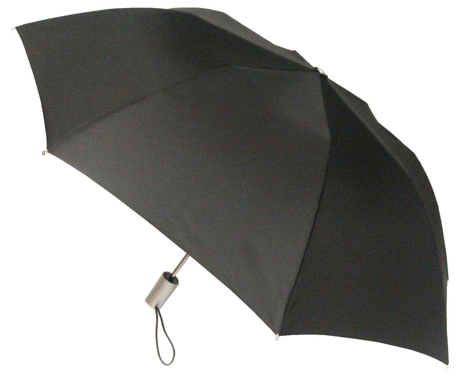 London Fog Auto Umbrella Black