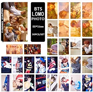 Kpop BTS Bangtan Boys [Love Yourself 承 'HER' ] Photo Postcard Lomo Cards Set Gift for A.R.M.Y (H05-30 Pcs)