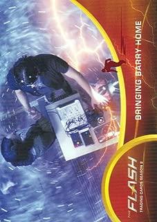 2017 The Flash Season 2 Trading Cards Scarlet Speedster Deco Foil #64 Bringing Barry Home