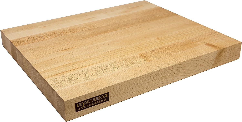 Butcher Block Acoustics Department store Audio Isolation Grain 1 Platform - Edge Selling rankings