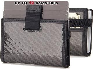 Minimalist Slim Wallet - iPulse Full Grain Leather RFID Protection Wallet and Card Holder