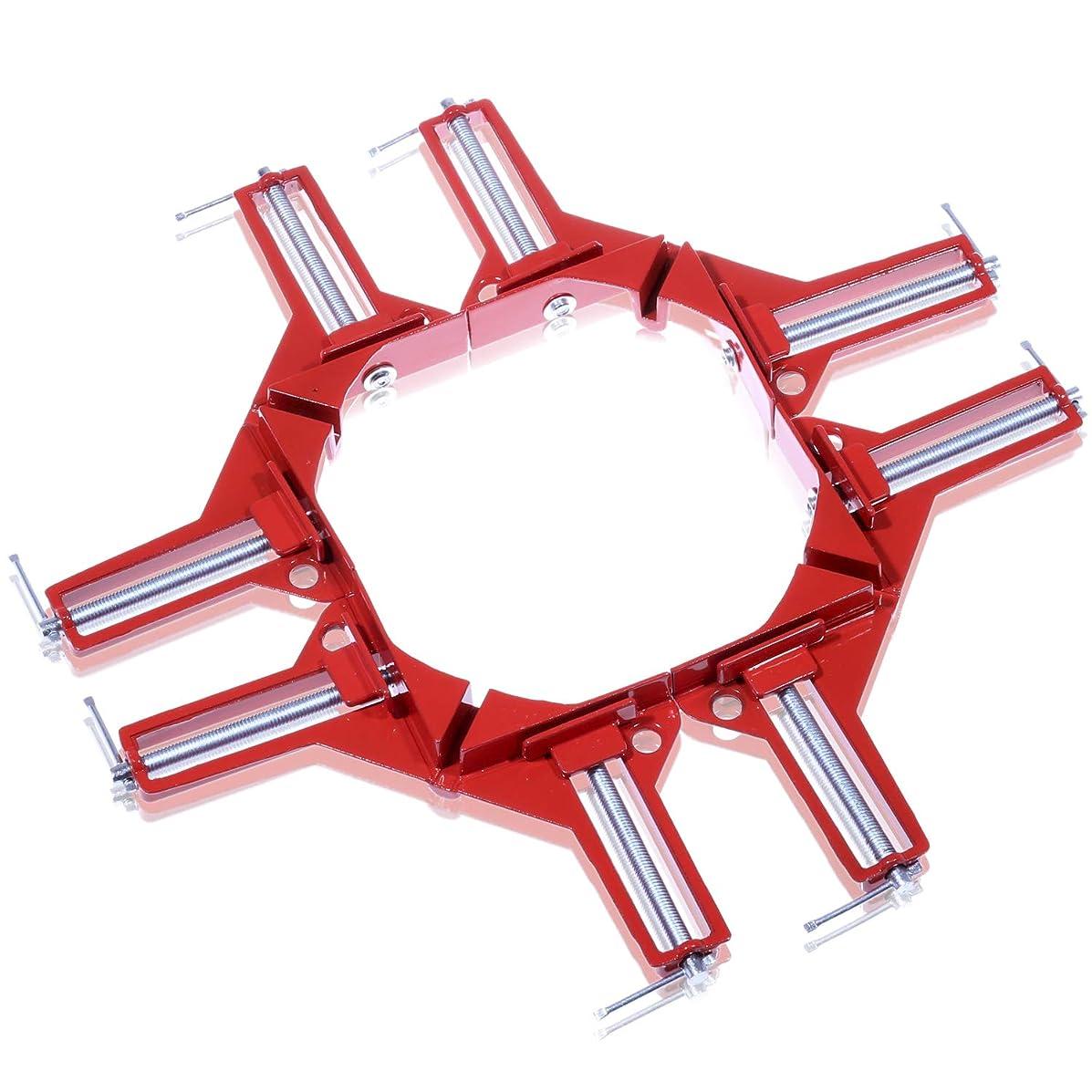 安定した標高顧問NESHEXST コーナー クランプ 木工 溶接 (4個セット)