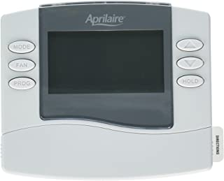 Aprilaire 8463 Thermostat, Programmable Dual Powered Thermostat - 1-Heat/1-Cool
