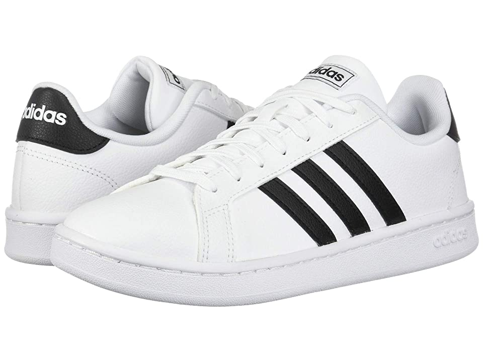adidas Grand Court (Footwear White/Core Black/Footwear White) Women's Shoes