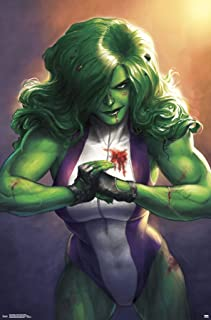 Trends International Marvel Comics Totally Awesome Hulk-Cover #4 Wall Poster, 22.375