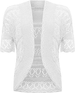 Amazoncouk White Cardigans Jumpers Cardigans Sweatshirts