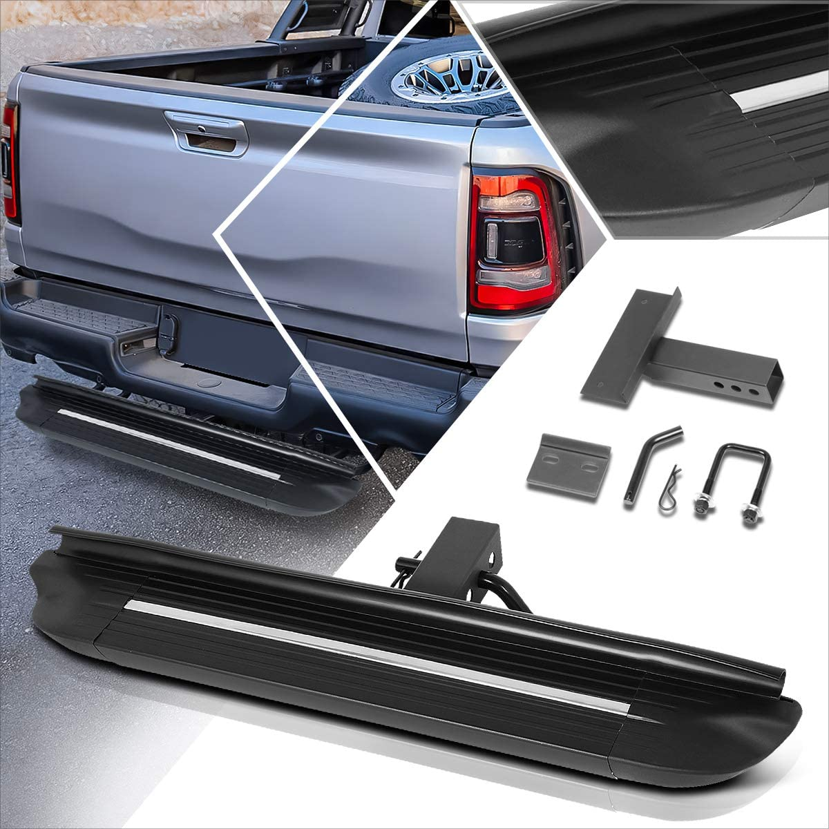 Universal Black Towing Hitch Step Board Inch 2 Tra Max 57% OFF Receiver Direct stock discount Fits