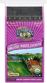 Lundberg Family Farms Organic Jasmine Rice, California White 25 Pound