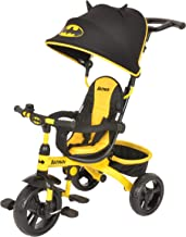 KidsEmbrace DC Comics Batman 4-in-1 Push and Ride Stroller Tricycle