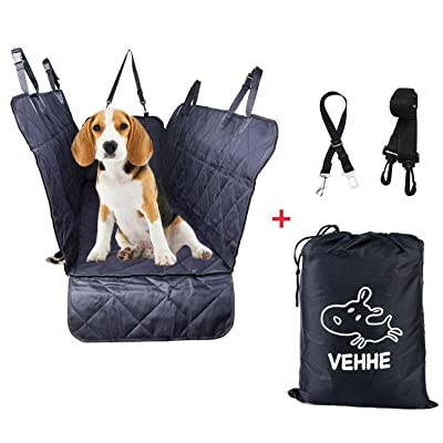 VEHHE Dog Car Seat Covers Pet Seat Cover Hammoc...