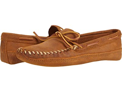 Minnetonka Double Bottom Softsole (Brown Ruff) Men
