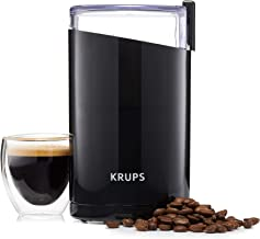 Krups F20342 koffiemolen - grote capaciteit 85 gram - topresultaten dankzij RVS messen