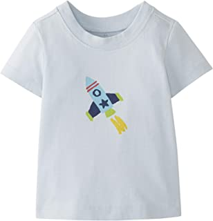 Moon and Back by Hanna Andersson Baby/Toddler Boys' and Girls' Short Sleeve Graphic Tee
