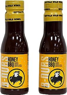 Buffalo Wild Wings Honey BBQ Sauce, 12 Fluid Ounce (Pack of 2)