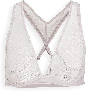 Calvin Klein Underwear Women's CK Wave Lace Unlined Bralette