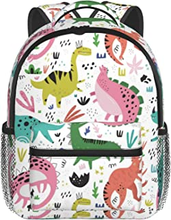 Cartoon Car Backpack Bags With Chest Strap Washable Backpack Adjustable Backpack For Gift Travel 10''× 4''×12''