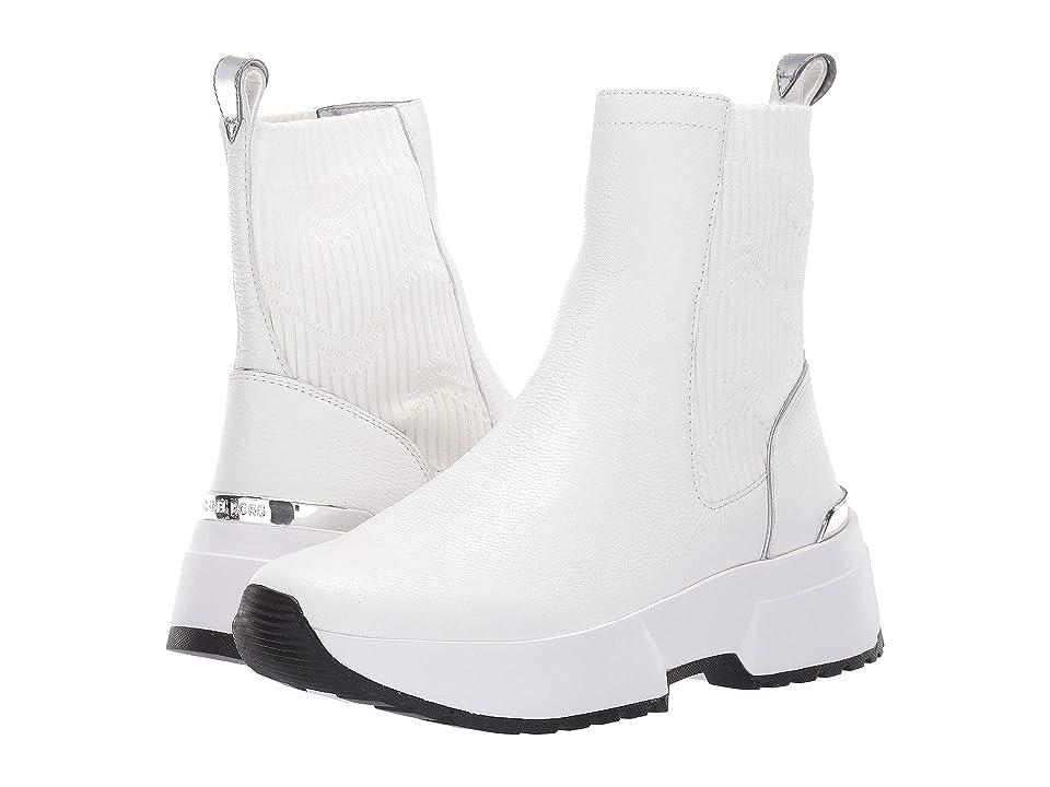 MICHAEL Michael Kors Cosmo Bootie (Optic White) Women