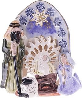 blue sky ceramics nativity
