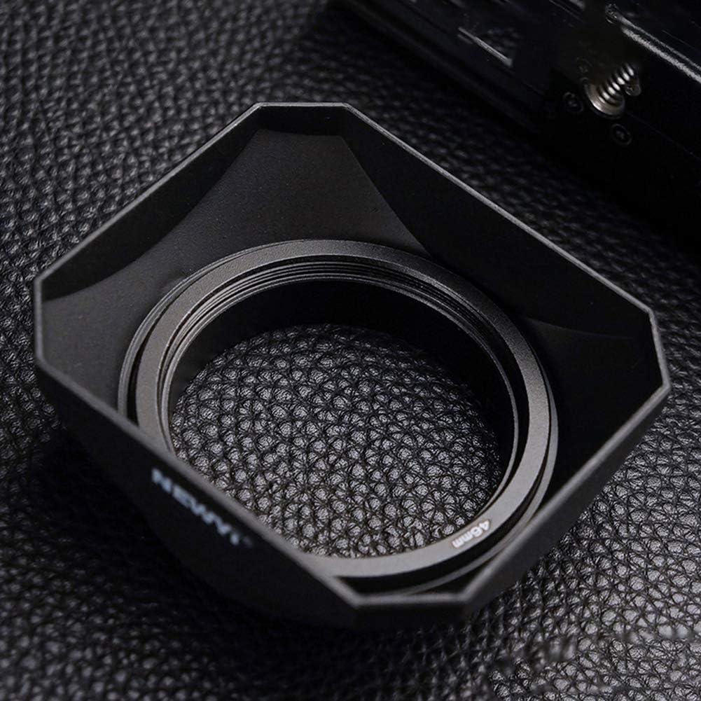 LZDseller01 Pare-Soleil 37-58mm Appareil Photo Accessoires Pratiques de Forme carr/ée Pare-Soleil Protecteur de Style r/étro Objectif Style r/étro