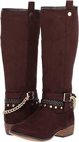 kensie girl Kids - Embellished Tall Boot (Little Kid/Big Kid)