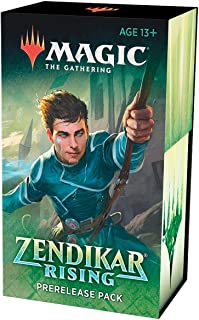 MTG Magic The Gathering Zendikar Rising Prerelease Pack Kit Box 6 Booster Packs