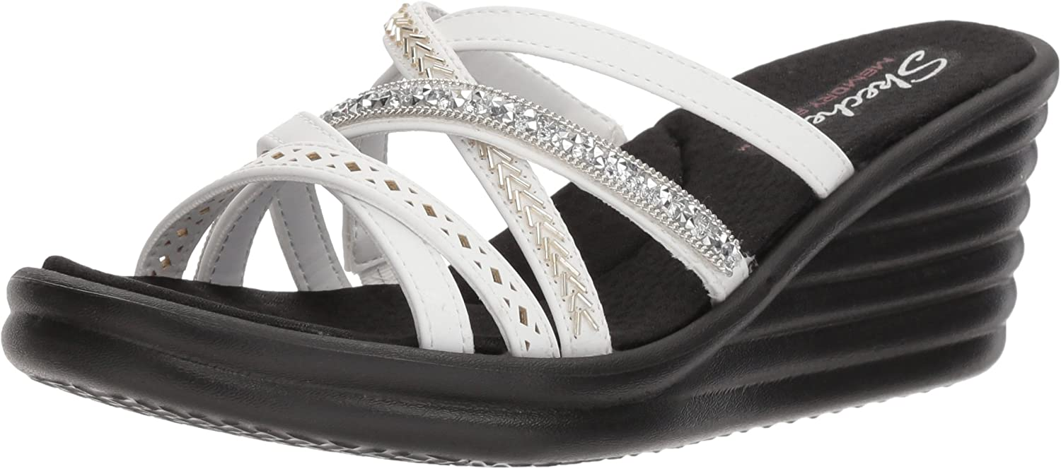 Skechers Cali Woherren rumbler Wave New Lassie Slide Sandal