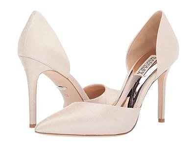 Badgley Mischka Lola (Ivory Indian Silk) High Heels
