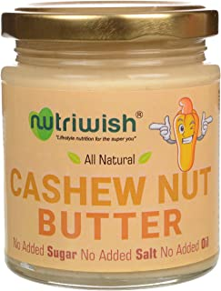 Nutriwish Cashewnut Butter Bottle, 200 g