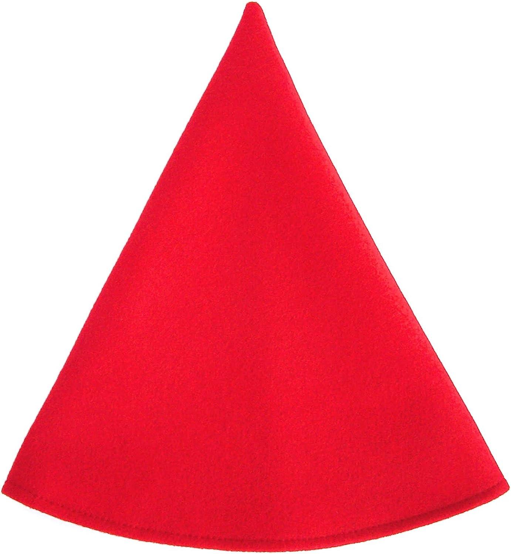 Red Gnome Hat Trust Cap Women's NEW Costume