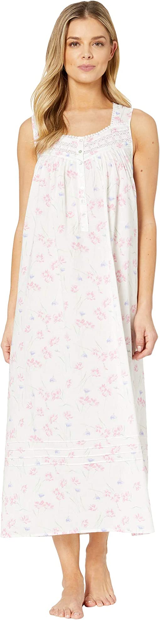 White Ground/Tossed Floral