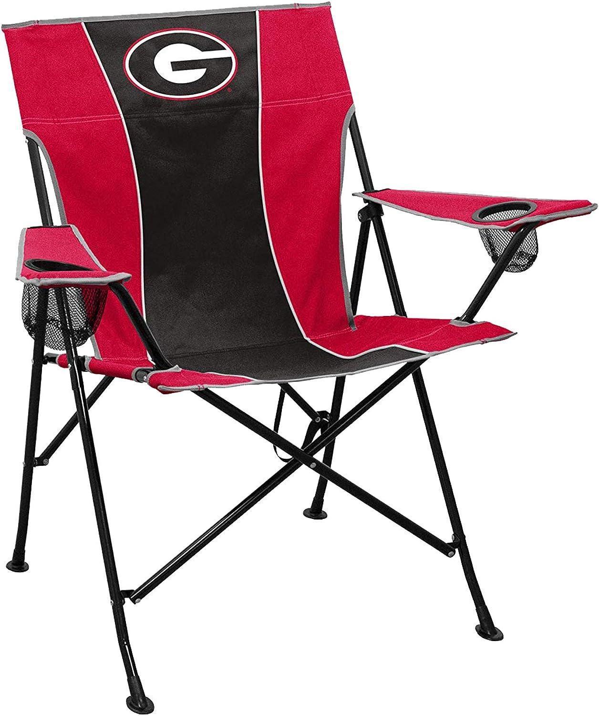 Logo Brands Mens Georgia Pregame Chair 142-10P, Multicolor, One Size