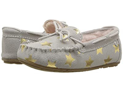 EMU Australia Kids Amity Star (Toddler/Little Kid/Big Kid) (Dove Grey) Girls Shoes
