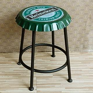 NMDB Tabouret Bar Chaise Bar Fer Art Tabouret retro Personnalite dinant Chaise menage Chaise Bureau Avant  Couleur Taille 33X33X70CM