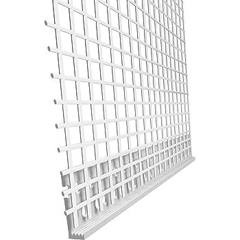 Sockelprofil ALU 200 mm 2,5 m Dämmung ALU-Profil Neopor Styropor WDVS