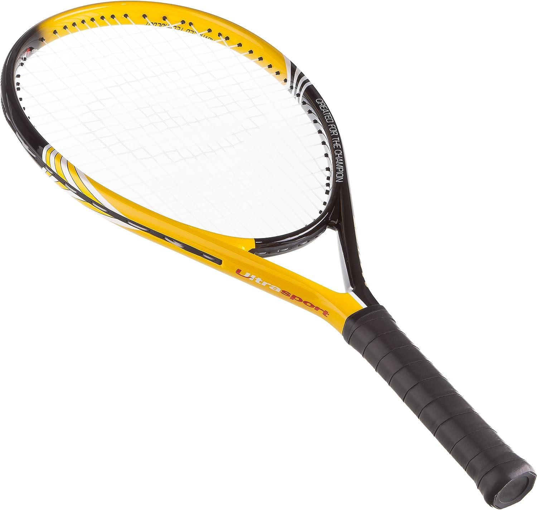 05e8fadc171cf Ultrasport Tennisschläger der IZX Serie, Turnierschläger für Herren &  Damen, Tennis Schläger besaitet für