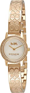 COACH AUDREY WOMEN's WHITE MOTHER OF PEARL DIAL WATCH - 14503497