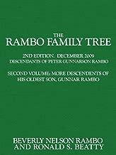The Rambo Family Tree, Volume 2: Second Volume: More Descendants of his oldest son, Gunnar Rambo