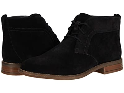 Clarks Camzin Grace (Black Suede) Women