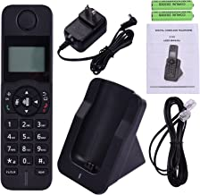 $27 » D1005 Digital Cordless Phone,with LCD Display Caller,Low Radiation, Support 16 Languages 5 Handsets Connection for Office ...