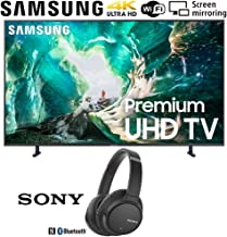 $897 » Samsung UN65RU8000 65-inch RU8000 LED Smart 4K UHD TV (2019) Bundle with Sony WH-CH700N Wireless Noise Canceling Bluetooth Headphones, Black