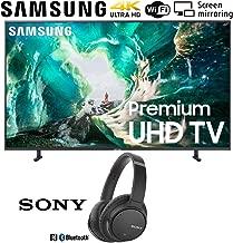 $897 » Samsung UN65RU8000 65-inch RU8000 LED Smart 4K UHD TV (2019) Bundle with Sony WH-CH700N Wireless Noise Canceling Bluetooth Headphones, Black