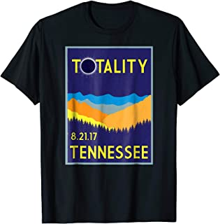 Tennessee Total Solar Eclipse T-shirt Totality Vintage Tee