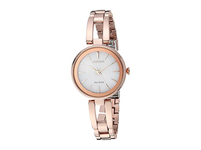 Citizen Watches  EM0633-53A Eco-Drive (Rose Gold Tone) Watches