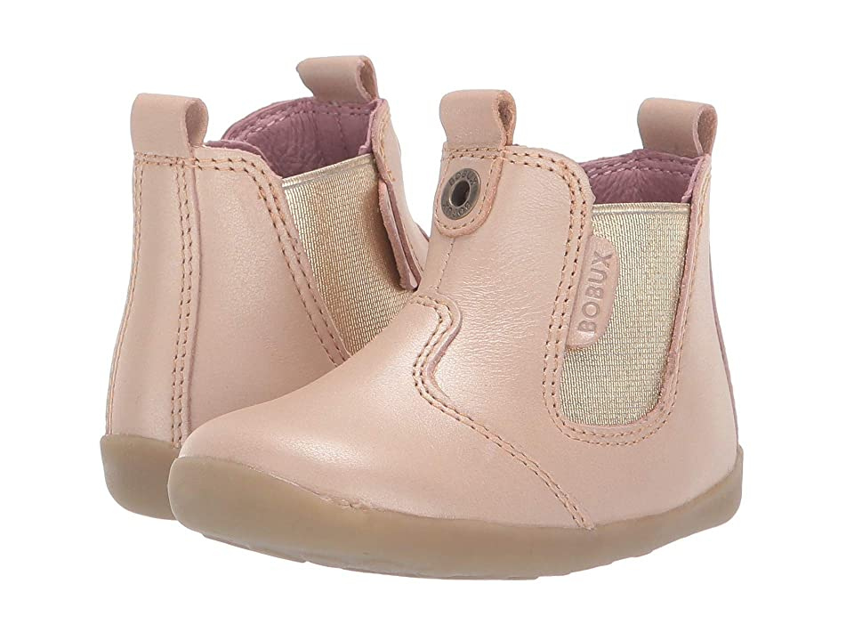 Bobux Kids Step Up Jodphur Boot (Infant/Toddler) (Champagne Shimmer) Girls Shoes