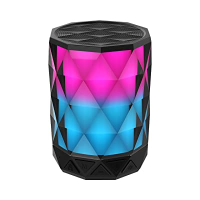 Portable Bluetooth Speakers With Lights, SHAVA ...