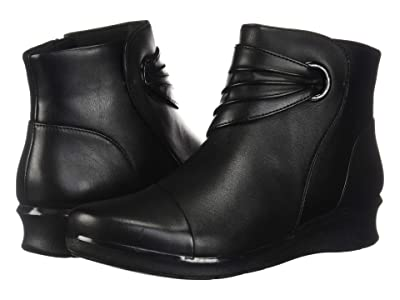 Clarks Hope Twirl (Black Leather) Women