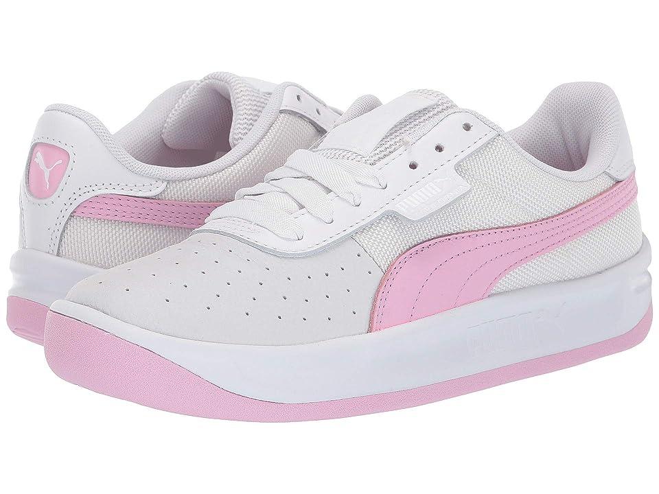 PUMA California Casual (Puma White/Pale Pink/Puma White) Women