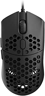 HK Gaming Sirius M Ultra Lightweight Honeycomb Shell Ambidextrous Wired Gaming Mouse 12 000 cpi - 6 Buttons - 54 g (Siriu...